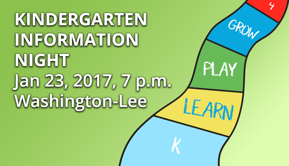 Kindergarten Information Night – Jan 23, 2017