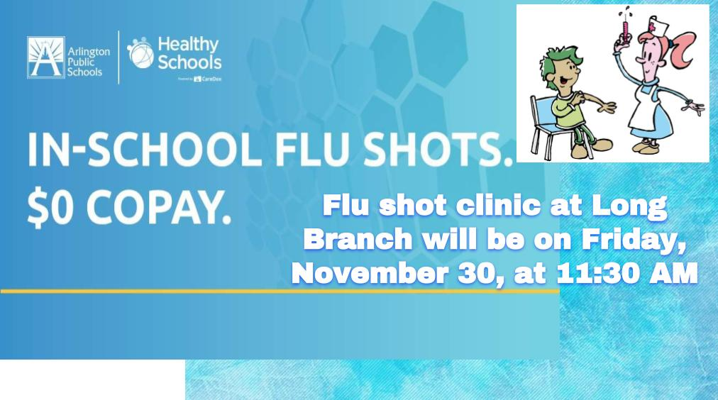 In School Flu Shots!