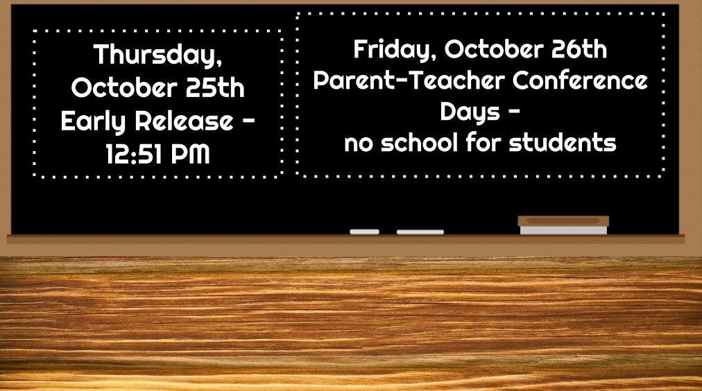 Fall Parent/Teacher Conference Days