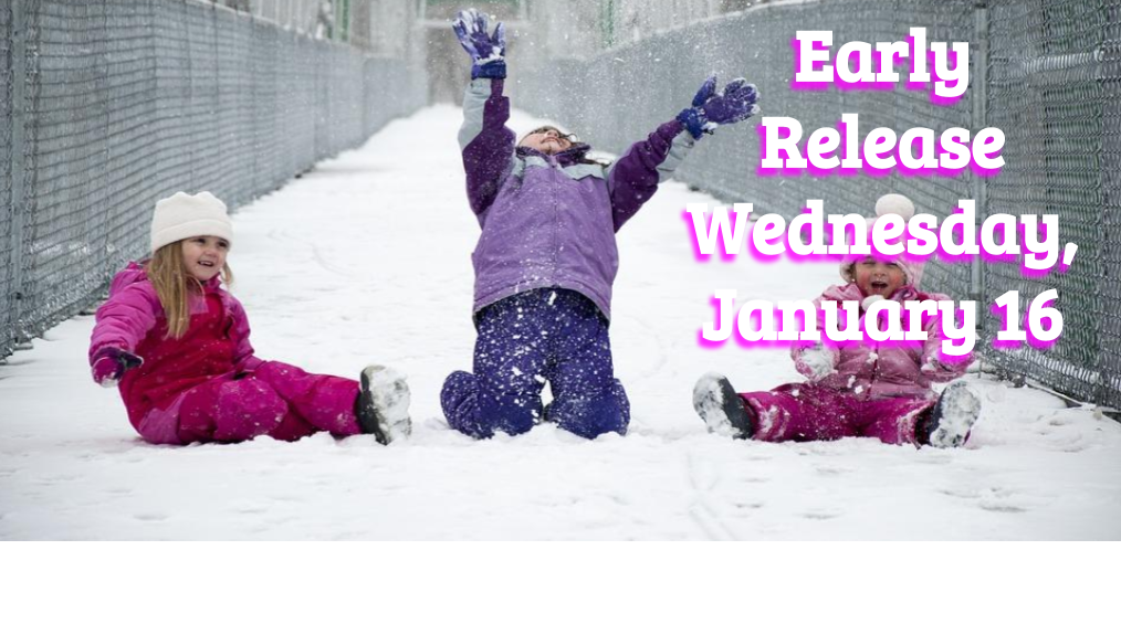 Early Release – Wednesday, January 16