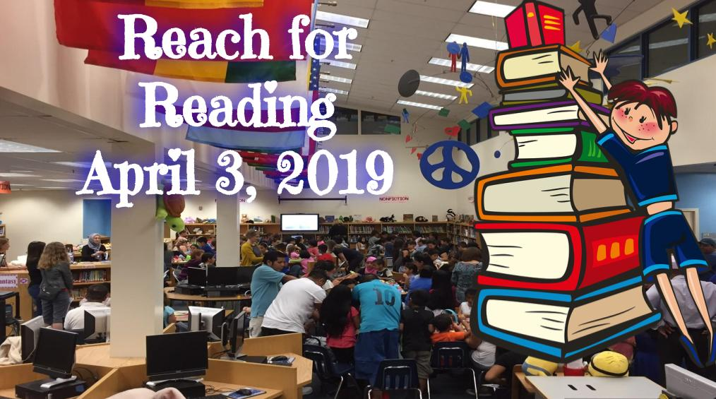 Reach for Reading – Wednesday, April 3, 2019