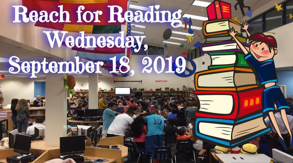 September 18 – Reach for Reading