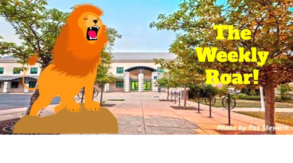 The Weekly Roar!