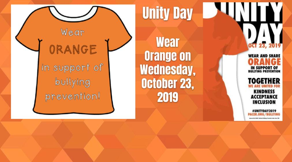 Unity Day – October 23, 2019