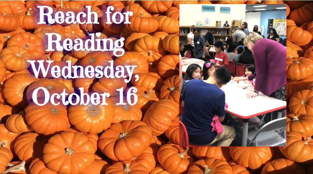 October 16 – Reach for Reading
