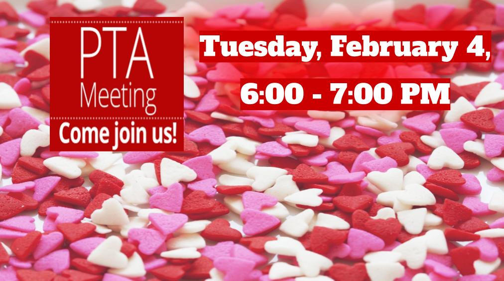 Join us February 4th for our PTA