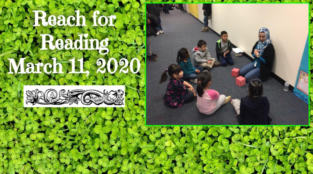 March 11 – Reach for Reading