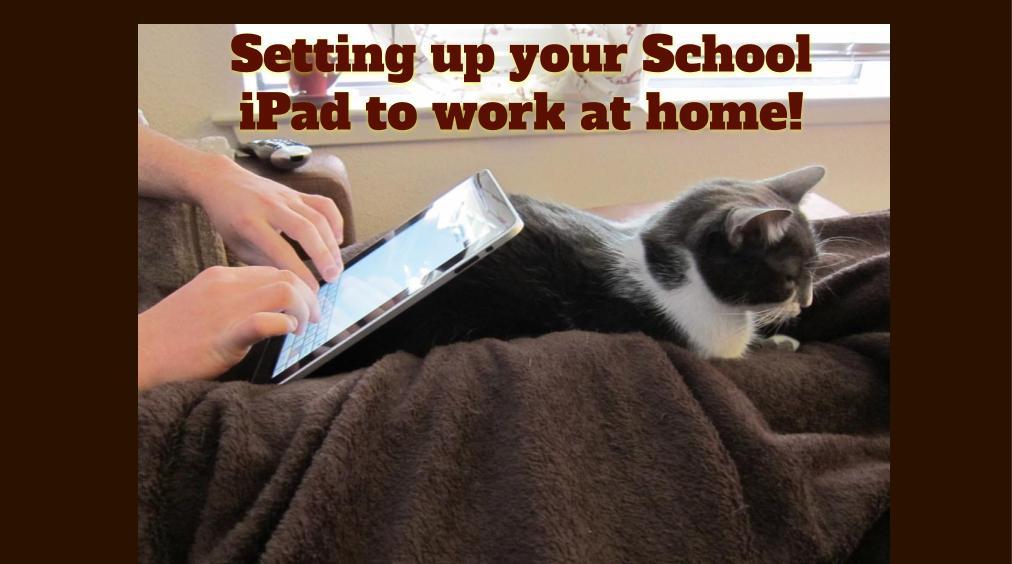 2020 iPad home setup