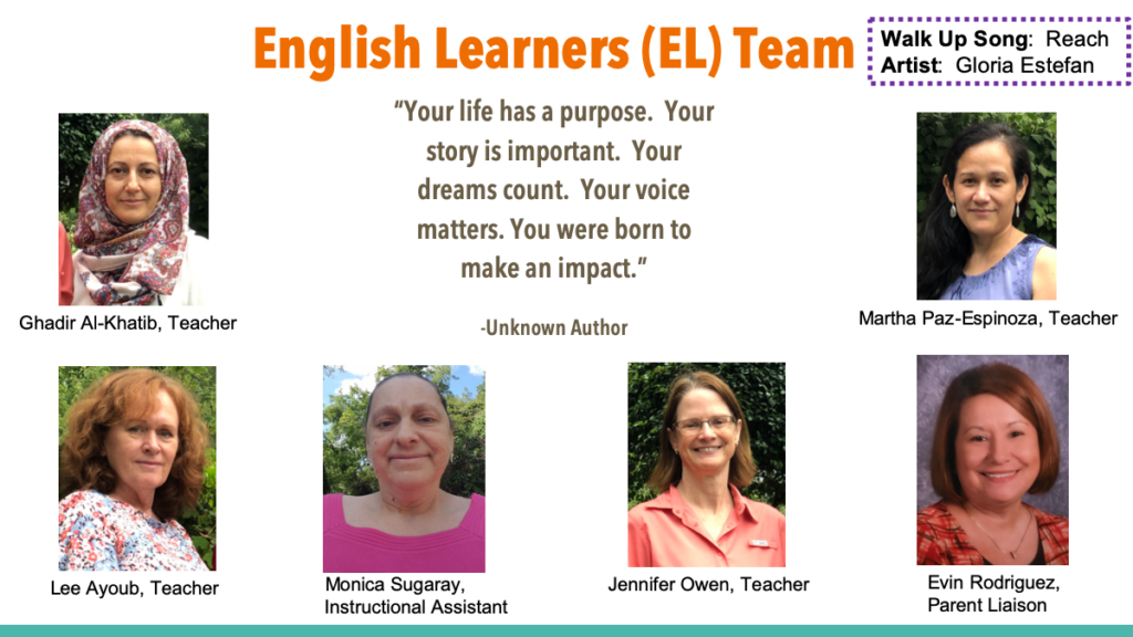 English Learners Team