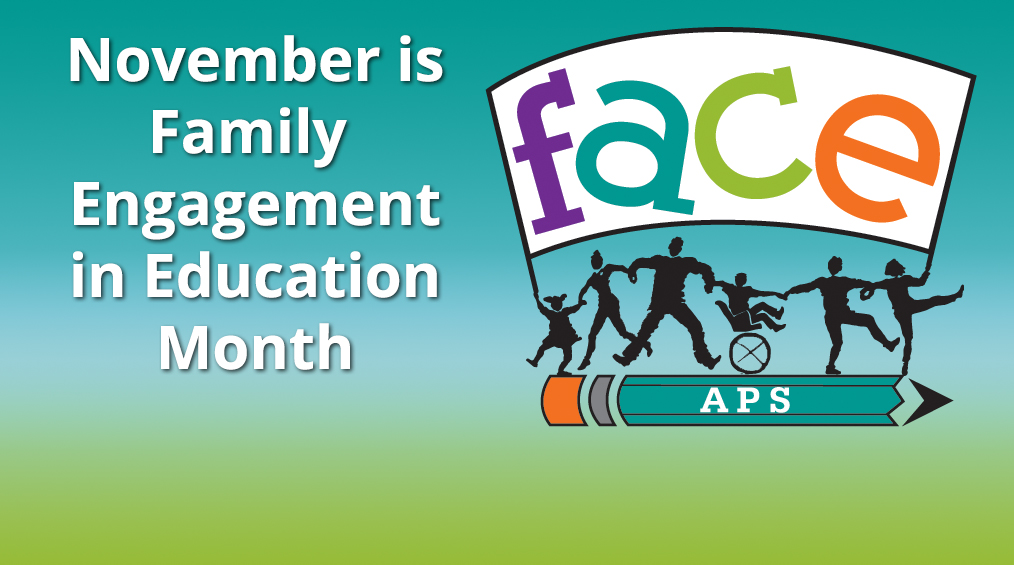 November is Family Engagement in Education Month