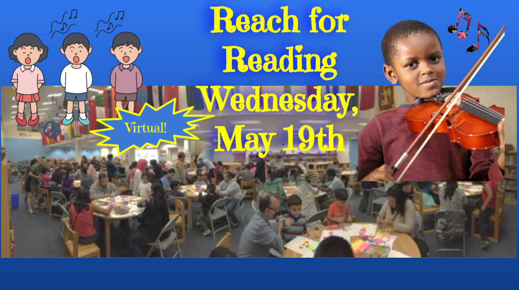 Reach for Reading – Wednesday, May 19, 2021