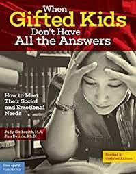 """Imagen del libro """"Cuando los niños superdotados no tienen todas las respuestas"""""""